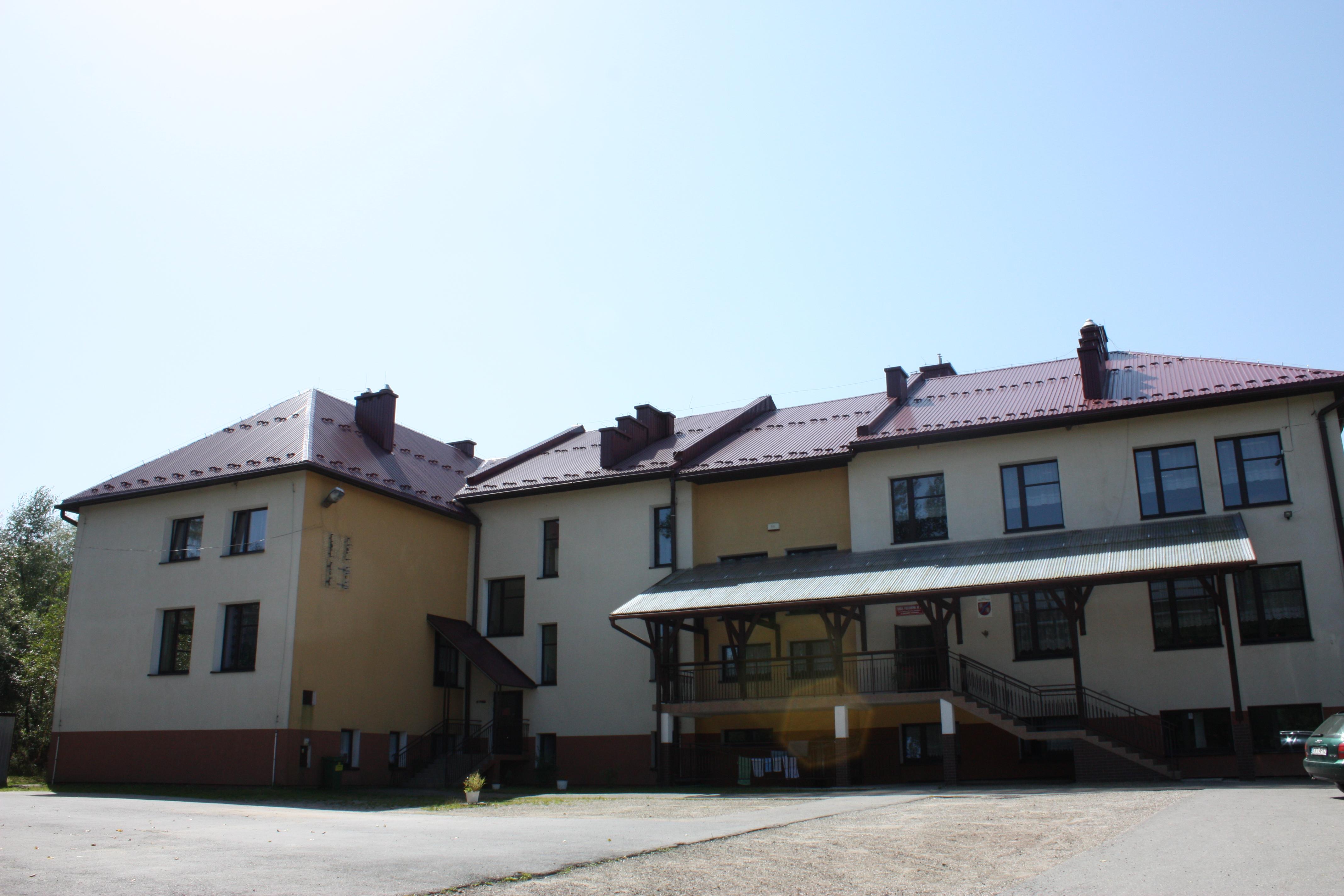 Budynek ZSiP Mszana Górna